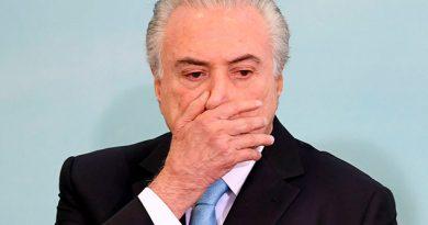 Expresidente brasileño Michel Temer se entrega a la policía y vuelve a la cárcel