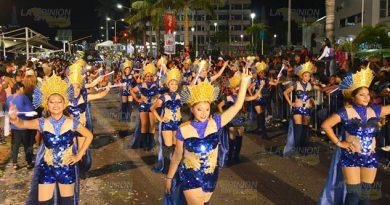 Fallido cierre del Carnaval Tuxpan 2019