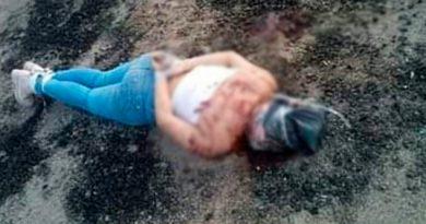 Grupo armado asesina a una mujer en la congregación San Cristóbal, Huiloapan