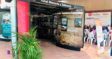 Indiferencia es complicidad; aperturan Túnel Memoria y Tolerancia en Poza Rica