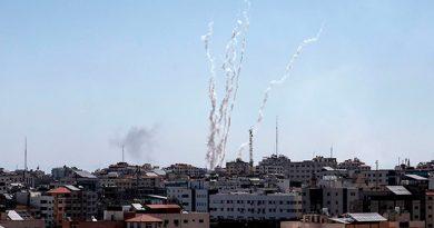 Israel bombardea Gaza tras el lanzamiento de 150 cohetes desde el enclave palestino