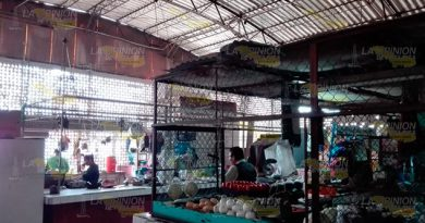"Locatarios, sin apoyos para reactivar el mercado ""Benito Juárez"" de Tuxpan"