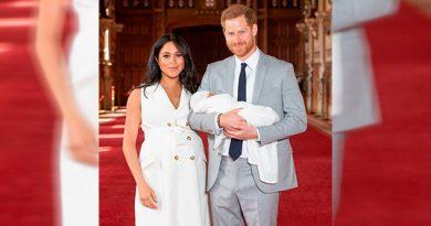 ¡Meghan Markle y el príncipe Harry presentaron a su bebé ante el mundo!