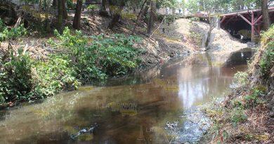 PEMEX contamina un arroyo de Poza Rica