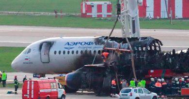 ¿Puede un rayo haber derribado el avión accidentado en Moscú?