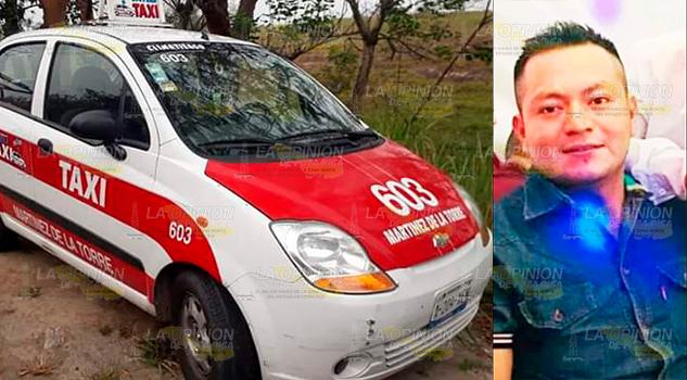 Rescatan con vida a taxista de Martínez de la Torre