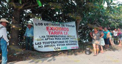 Retiro de Senador debilita demanda de reducir tarifas de C.F.E. en Tuxpan