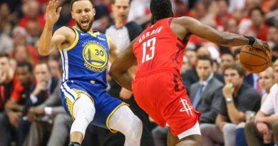 Rockets de Houston empata la serie a 2 con Warriors de Golden