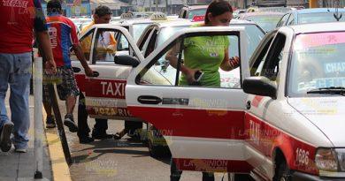 Se rebelan los taxistas en Poza Rica