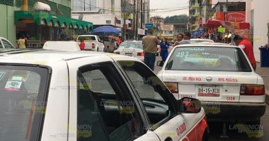 Taxista no suben el precio pero suben más pasajeros en Poza Rica