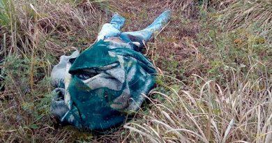 Tiran cadáver encobijado en comunidad de Francisco Z. Mena