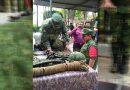 Jonatan, soldado por un día en Tuxpan
