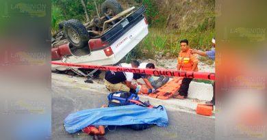Brutal choque sobre carretera estatal María de la Torre - San Andrés, deja un muerto