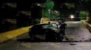 Adolescente muere en accidente automovilístico en Poza Rica