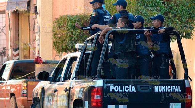 Andaba de escandaloso y lo arrestaron en Huejutla, Hidalgo