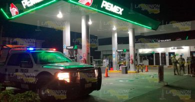 Asaltan a despachador de gasolinera en Tuxpan