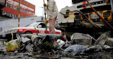 Atascados de basura en Poza Rica