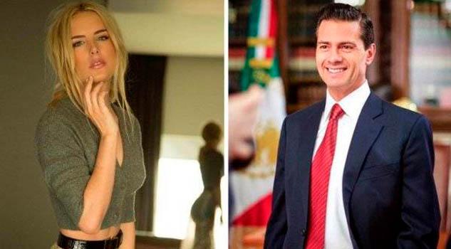 Captan a EPN y Tania Ruiz en tremendo beso y bailando cumbia