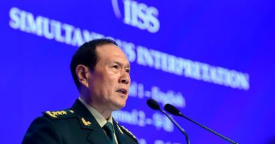 China advierte: No seremos intimidados por E.U.A.