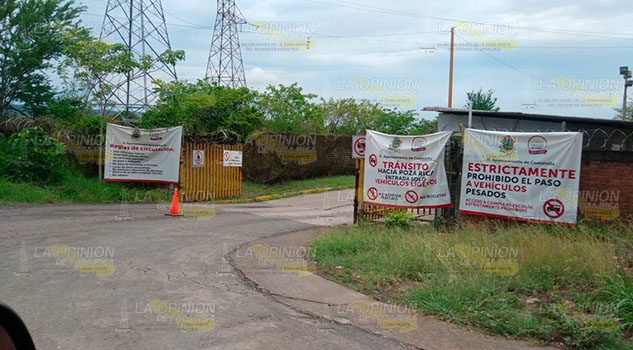 Cierran el acceso Escolin-Coatzintla; hoy es el último día para utilizar esa vía