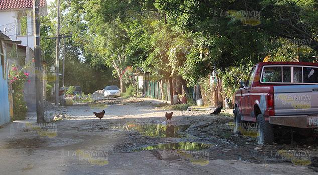 Colonias de Poza Rica, sumidas en el atraso