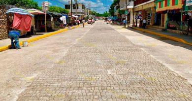 Corregida y renovada avenida en Álamo