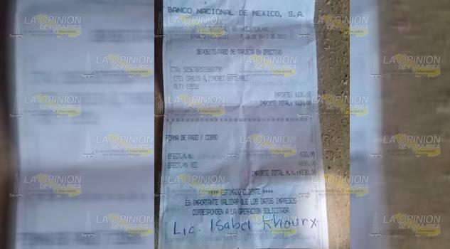 Denuncian presunto fraude en la Huasteca