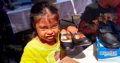 Gobierno de Poza Rica entregará 3 mil zapatos