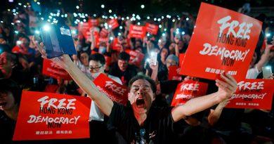 Hong Kong pide al G20 que defienda sus libertades