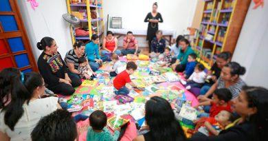 """Inauguran la primera """"Bebeteca"""" en Veracruz; favorecerá estimulación en la primera infancia"""