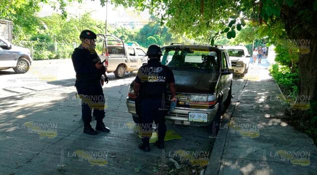 Le dispara a niños que jugaban en la calle en Tuxpan