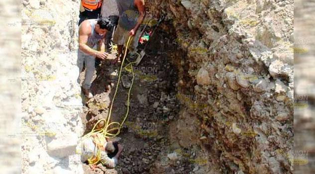 Mueren empleados del ayuntamiento de Misantla al ser sepultados por un alud