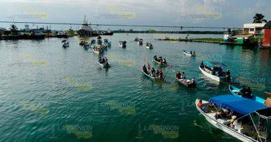 Pescadores de Tuxpan celebran a su santo patrono