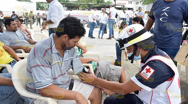Repatriaran a indocumentados encontrados en tráiler sobre la Tuxpan-Tampico