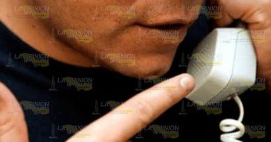 Reportan números de extorsionadores en Huejutla, Hidalgo