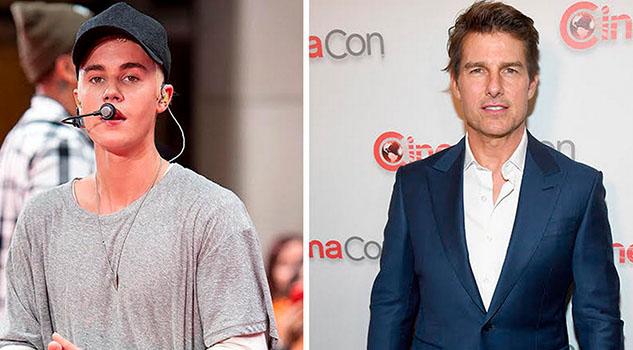 Se cancela la pelea del siglo: Justin Bieber y Tom Cruise no se enfrentarán