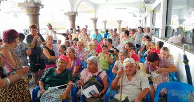 Sin recursos para pagar a abuelitos en Tuxpan