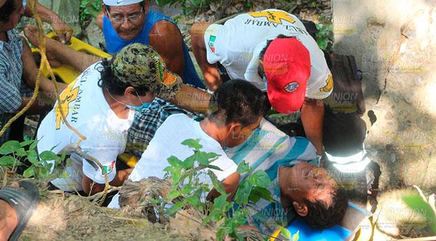 Sobrevive a caída de seis metros en Poza Rica