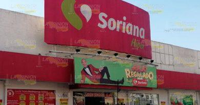 Soriana tima a sus clientes en Poza Rica