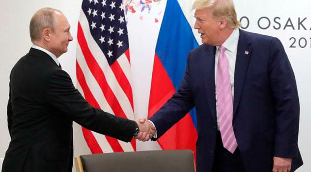 Trump y Putin acuerdan iniciar consultas sobre el Tratado START III