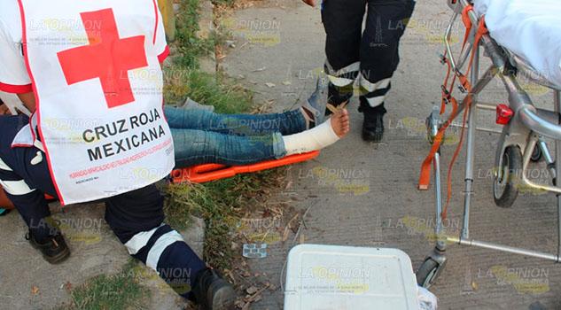 Vendedor de tortillas arrollado en Poza Rica