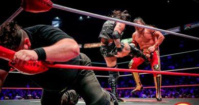 Último Guerrero se llevó la lucha contra Ciber por descalificación