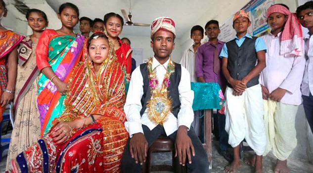 115 millones de hombres fueron casados mientras eran niños