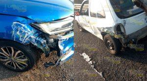 Accidente automovilístico sobre el tramo carretero Tampico- México