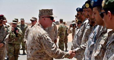 Arabia Saudí aprueba el despliegue de 500 soldados estadounidenses
