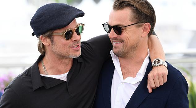 Brad Pitt se burla de Leonardo DiCaprio por la muerte de Jack en 'Titanic'