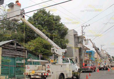 Ciudadanos y empresarios están molestos por apagones constantes en Poza Rica