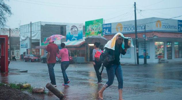 """Clima 13 de julio; """"Barry"""" dejará lluvias en estos estados"""