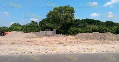 Comercializan zona rural en la carretera Álamo - Tuxpan