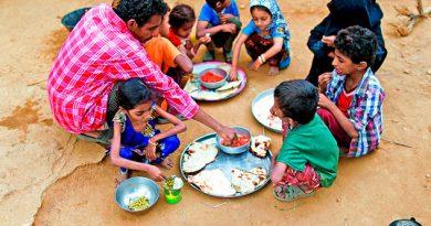 Con hambre en el mundo: 820 millones de personas
